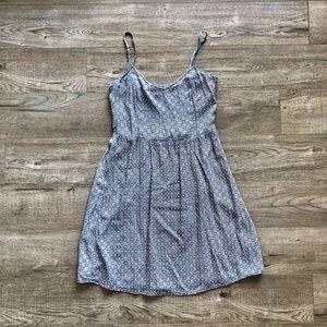H&M Divided Diamond Pattern Grey/White Tank Dress